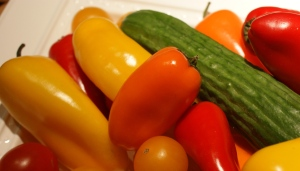 Tiny peppers and cucumbers have more flavor and appeal