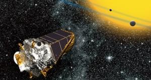 Kepler Spacecraft image courtesy NASA