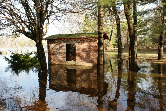 The Nashua flooded in 2010, but by then the waters were pristine.