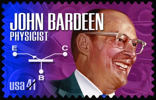 John Bardeen postage stamp  Image credit: USPS